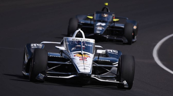 Open Test en Indy, Día 2: Newgarden lidera, Montoya en 3º