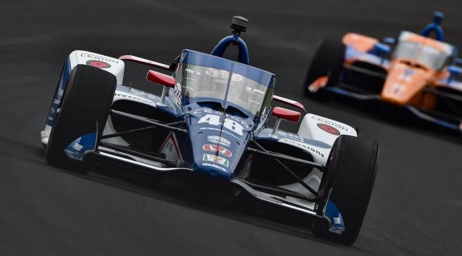 Kanaan, adelante en práctica de jueves en Indy 500