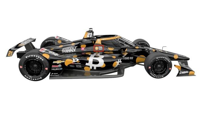 VeeKay manejará el auto Bitcoin en Indy 500