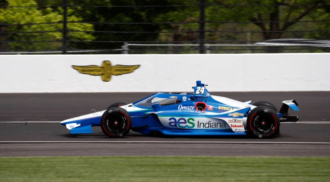 Sage Karam (FOTO: Chris Jones/IndyCar)