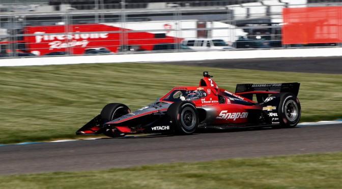 Newgarden responde en Práctica 2 de Indy GP