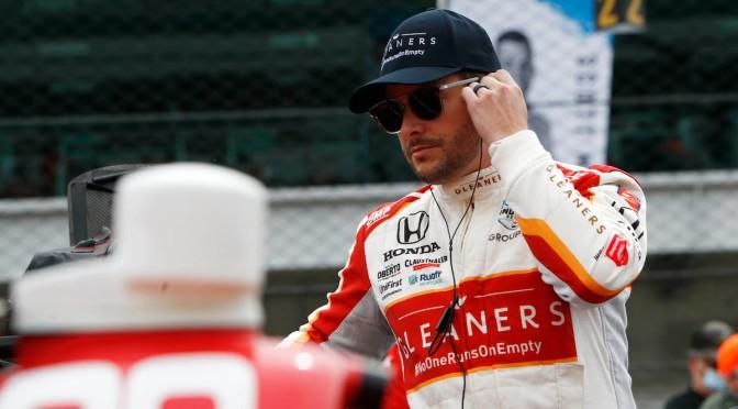 Andretti se sacude la mala suerte de la semana en Indy 500
