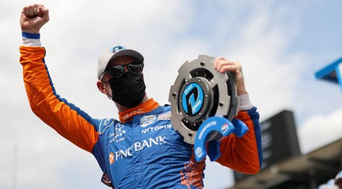 Dixon gana la pole de 105º Indy 500