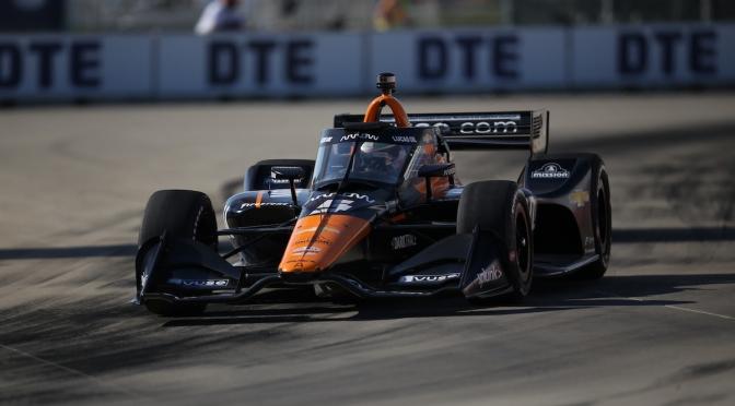 O'Ward, en pole para Carrera 1 en Detroit