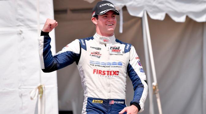 """Indy Lights: Kirkwood hizo """"doblete"""" en Detroit"""