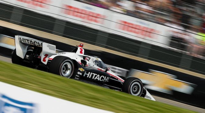 Newgarden, en pole para Carrera 2 en Detroit