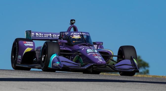 Grosjean, adelante en primera práctica en Road America