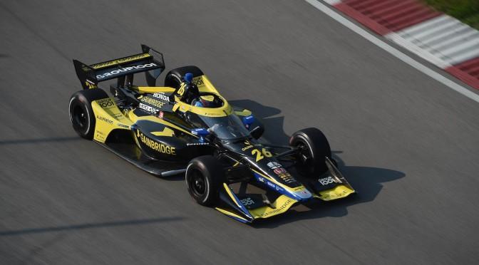 Herta lidera 1-2 de Andretti en test en Gateway