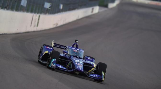 166 vueltas para Grosjean en primer test en óvalos