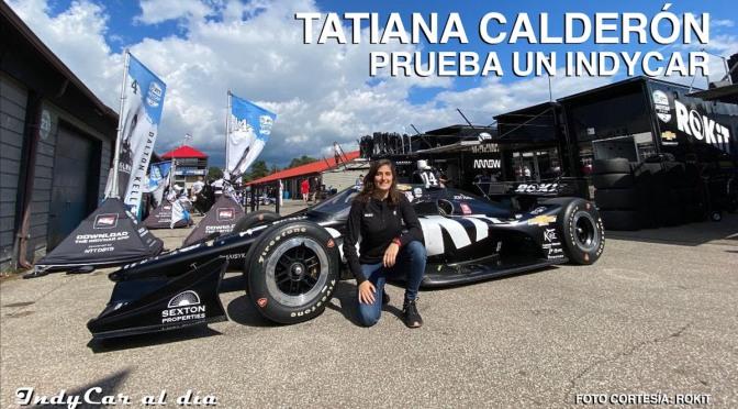 ENTREVISTA: Tatiana Calderón probó un IndyCar