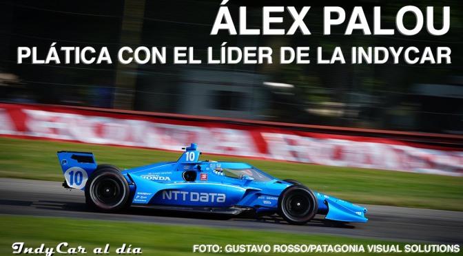 ENTREVISTA: Álex Palou, líder de la Indycar