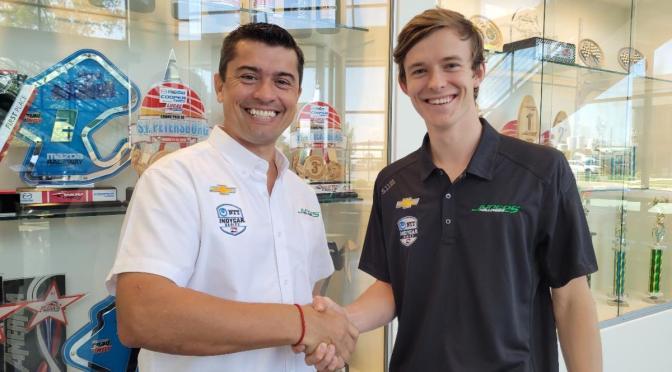 Callum Ilott debutará en IndyCar con Juncos Hollinger Racing