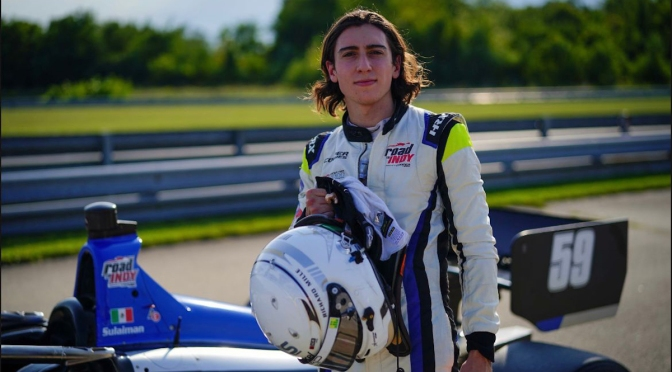 Manuel Sulaimán sube a Indy Lights con HMD Motorsports
