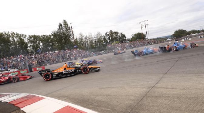 Ocupantes del podio en Portland, contrariados por decisión de Control de Carrera