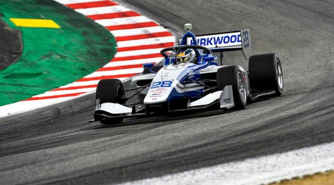 "Kirkwood completa ""doblete"" de Indy Lights en Laguna Seca"