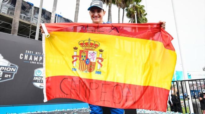 Palou es campeón en remontada de Herta en Long Beach