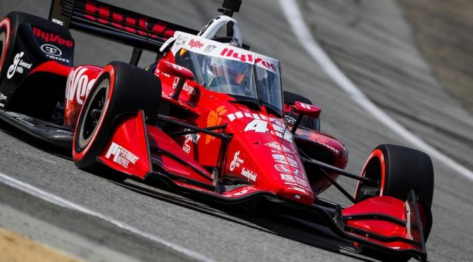 Askew iguala mejor calificación personal en IndyCar