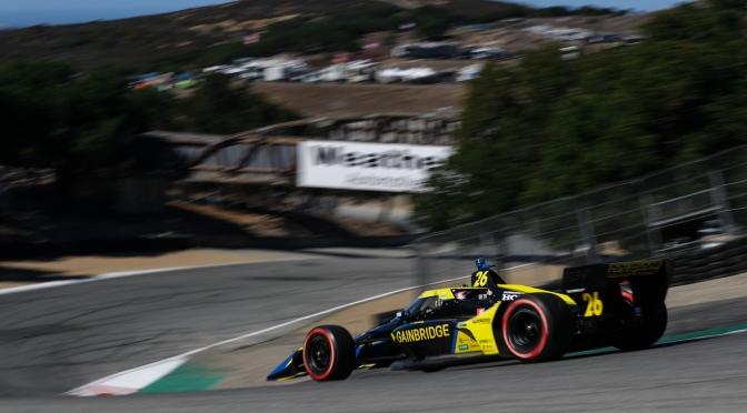 Herta vuelve a dominar Laguna Seca; Palou finaliza en 2º lugar