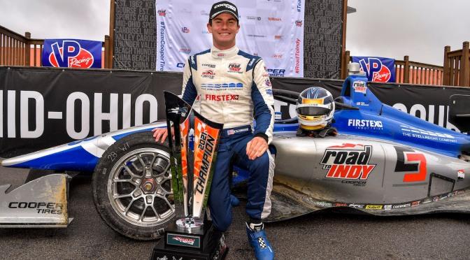 Kirkwood hace historia con título de Indy Lights
